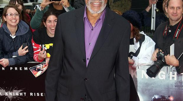 Morgan Freeman is set to join the cast of Transcendence