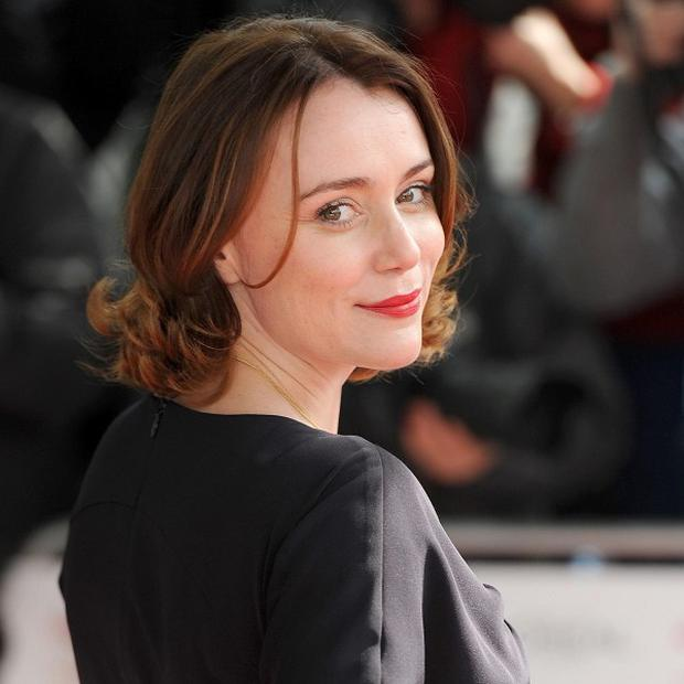 Keeley Hawes said her son doesn't think of her as cool