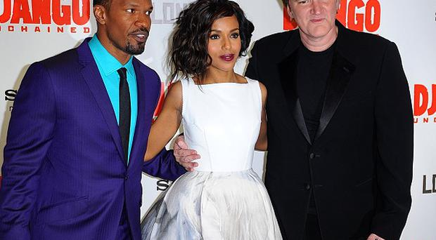 Jamie Foxx and Kerry Washington star in Quentin Tarantino's film Django Unchained