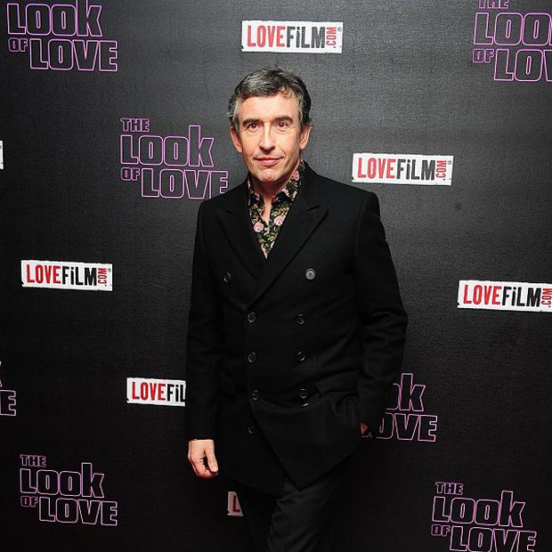 Steve Coogan arriving at the UK premiere of The Look of Love