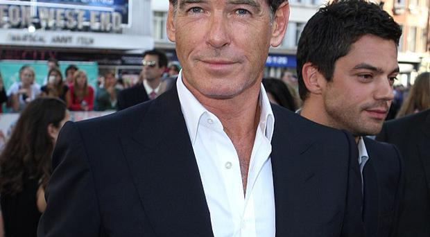 Pierce Brosnan is hoping to work with his son Sean on a film