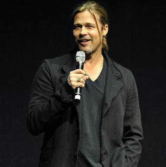 Brad Pitt was proud to preview a clip of his new film World War Z at CinemaCon 2013