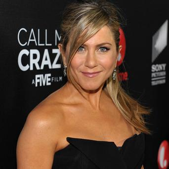 Jennifer Aniston was at the premiere of Call Me Crazy: A Five Film
