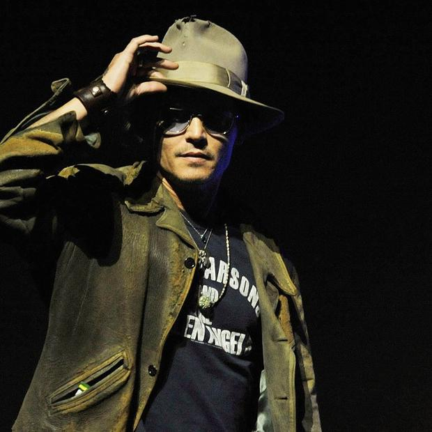 Does his fear of spiders mean Johnny Depp isn't a 'real man'?