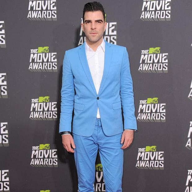 Zachary Quinto stars as Mr Spock in Star Trek Into Darkness