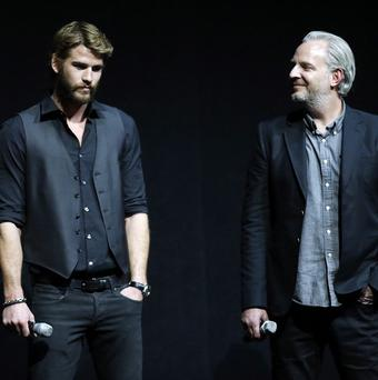 Liam Hemsworth stars in The Hunger Games: Catching Fire, directed by Francis Lawrence