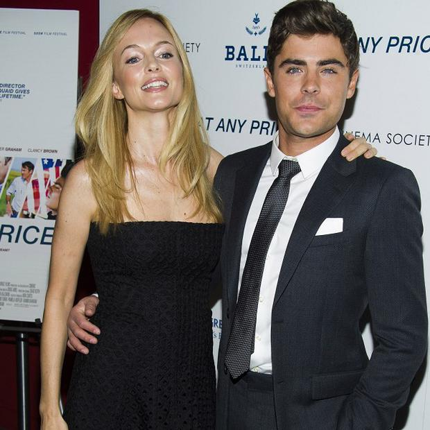 Zac Efron admitted he had a crush on Heather Graham