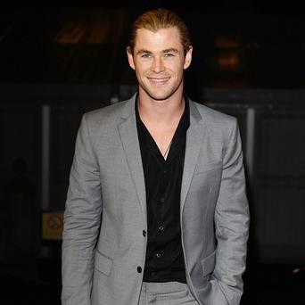 Chris Hemsworth stars in the Thor sequel