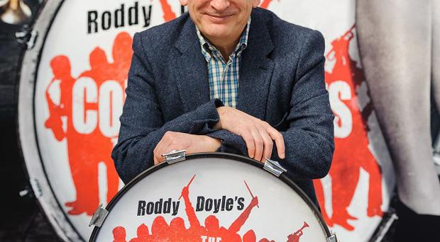 Author Roddy Doyle at the Palace Theatre where The Commitments musical will be staged