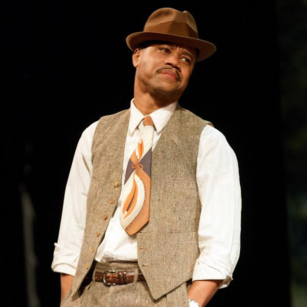 Cuba Gooding Jr is starring in The Trip To Bountiful at the Stephen Sondheim Theatre in New York