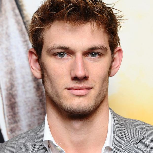 Alex Pettyfer played Christian Grey in a mock-up 50 Shades Of Grey scene