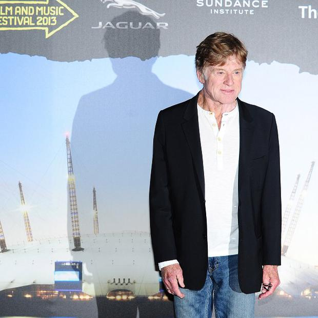 Robert Redford launched the 2013 Sundance London festival at the O2