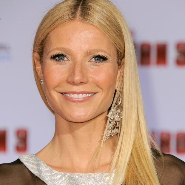 Bum note: Gwyneth Paltrow's controversial evening dress