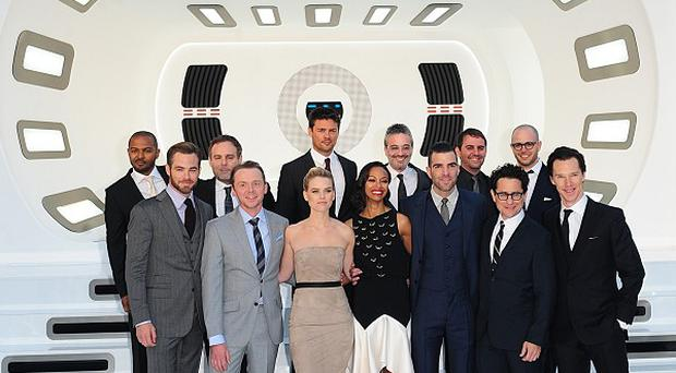 The Star Trek Into Darkness cast attend the film's UK premiere