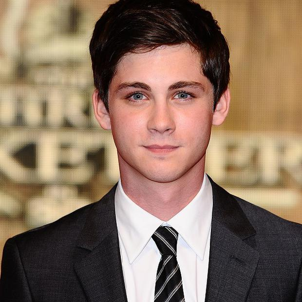 Logan Lerman could be joining Brad Pitt in Fury