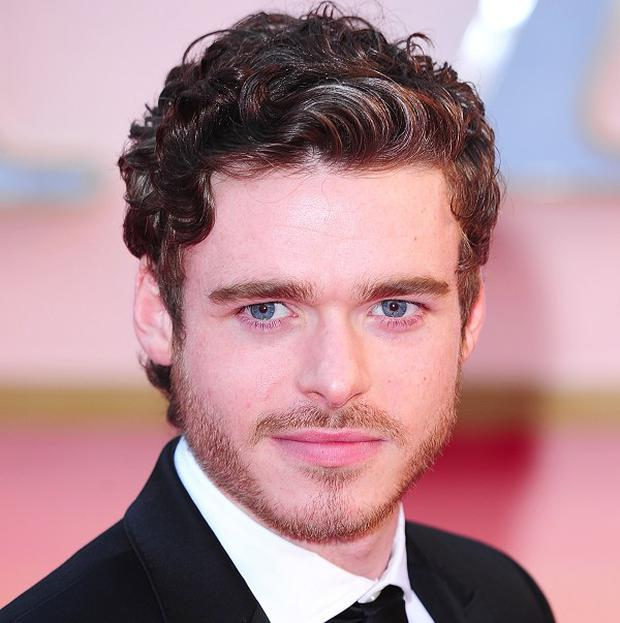 Richard Madden will play a prince in the latest big-screen adaptation of Cinderella