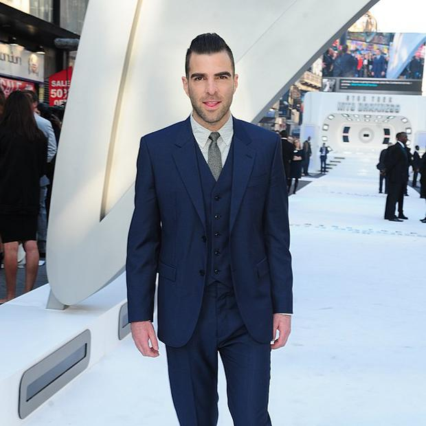 Zachary Quinto has got to know Leonard Nimoy since playing Mr Spock
