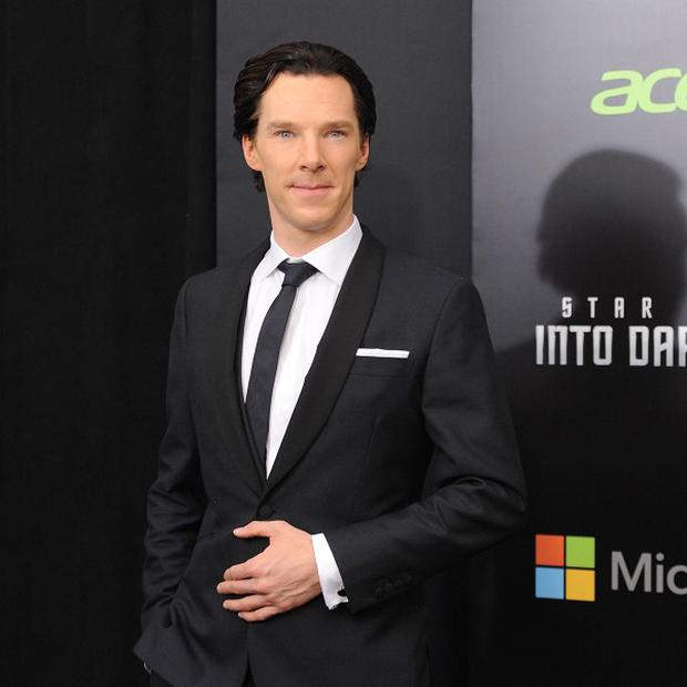 Benedict Cumberbatch said his Star Trek role was more physically demanding than usual