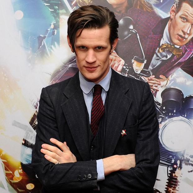 Matt Smith's trademark floppy hair has gone for his new film role