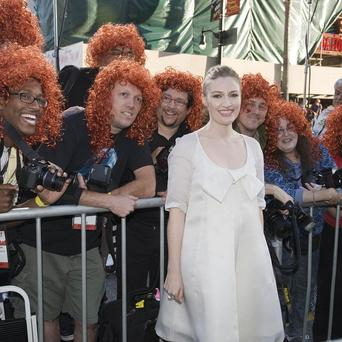 Kelly Macdonald voices tomboy princess Merida in Disney film Brave
