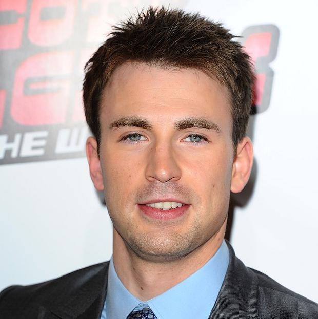 Chris Evans stars in the Captain America sequel