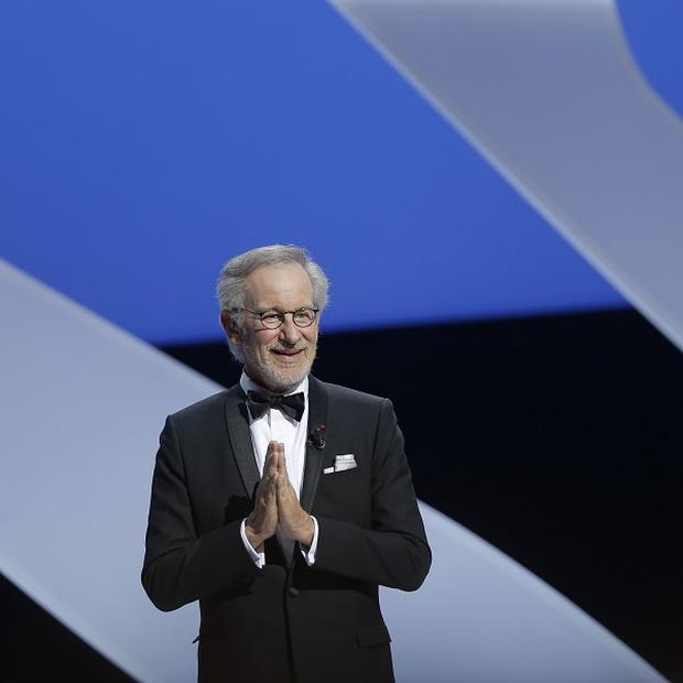 Director and jury president Steven Spielberg at the opening ceremony of the Cannes Film Festival