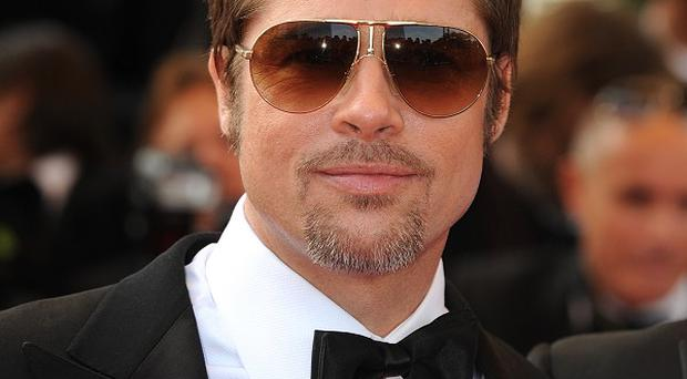 Brad Pitt has shown his new film World War Z to VIP guests at a special screening