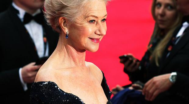 Dame Helen Mirren could be playing an eccentric chef