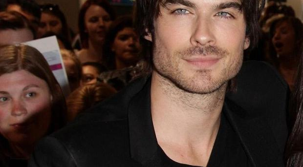 Ian Somerhalder is filming new action thriller The Anomaly in London