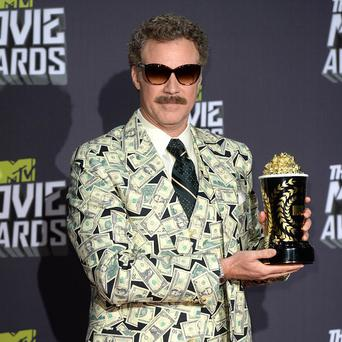 Will Ferrell stars in the Anchorman films