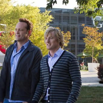 Owen Wilson and Vince Vaughn star in The Internship