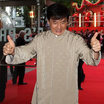 Jackie Chan was delighted with his Hollywood recognition