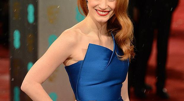Jessica Chastain is delighted to be working with host of top directors