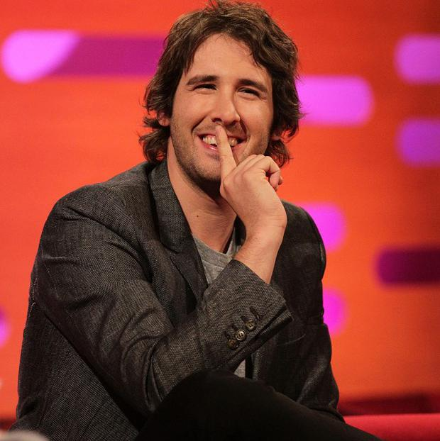 Josh Groban would like to be in a Woody Allen film