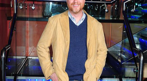 Joss Whedon attending the London gala screening of Much Ado About Nothing
