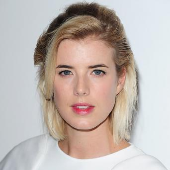 Agyness Deyn has the starring role in Electricity