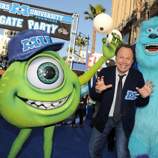 Billy Crystal at the Monsters University premiere in LA