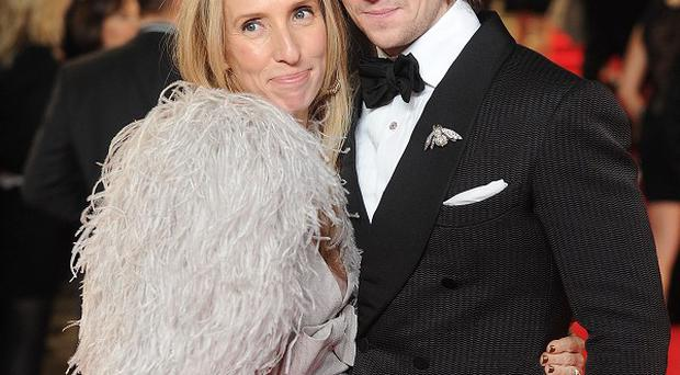 Sam Taylor-Johnson, pictuted with actor husband Aaron