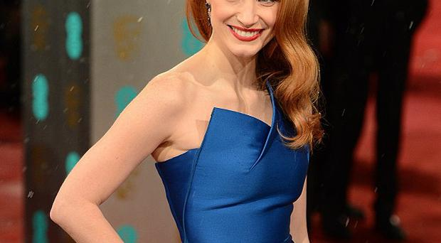 Jessica Chastain had her own spooky encounter to share