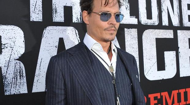 Johnny Depp hopes to change the way people see Native Americans