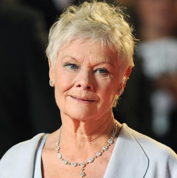Dame Judi Dench received a doctorate from Stirling University