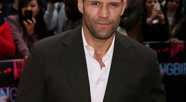 Jason Statham likes to bring physicality to a role