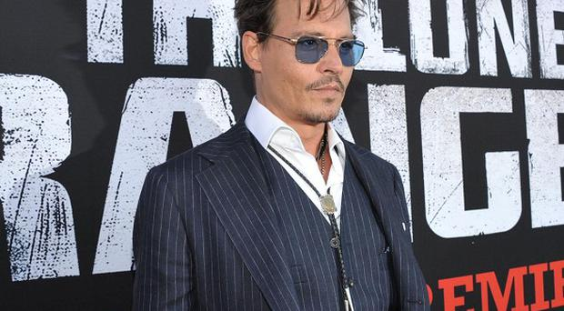 Johnny Depp said he's had some good luck in his career