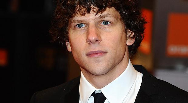 Jesse Eisenberg doesn't like watching his own movies