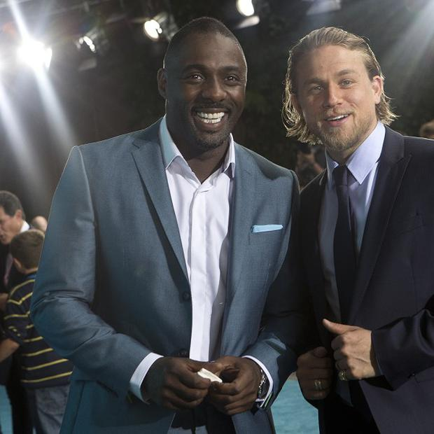 Idris Elba and Charlie Hunnam star in Pacific Rim
