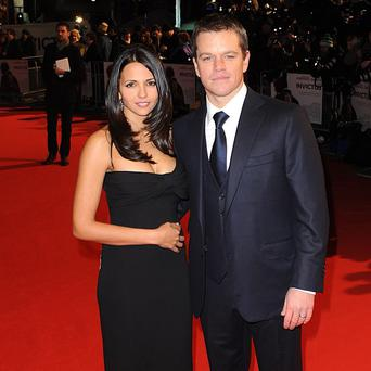 Matt Damon has been married to Luciana Barroso for eight years