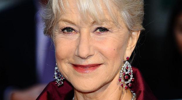 Dame Helen Mirren said her heels helped with her Monsters University role