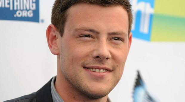 Cory Monteith played a drug addict in his final film role