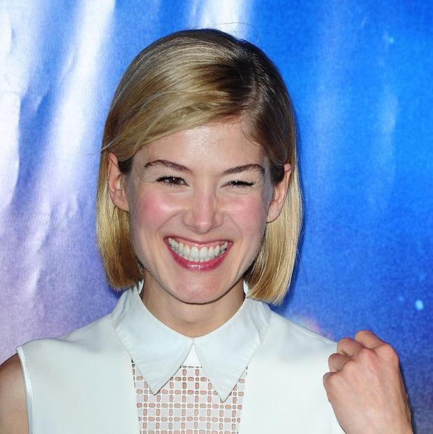 Rosamund Pike has been linked to the film Gone Girl
