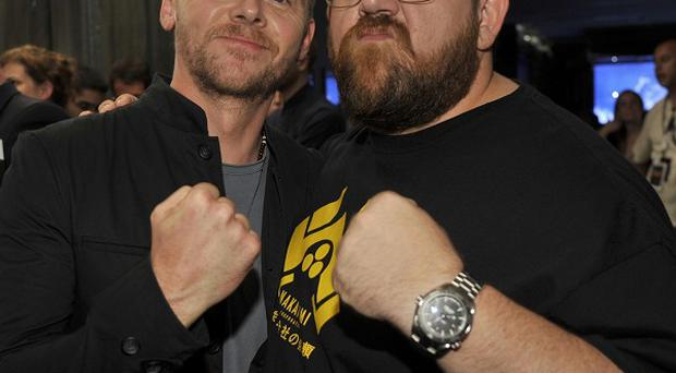 Simon Pegg and Nick Frost both voice characters in Box Trolls